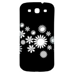 Flower Power Flowers Ornament Samsung Galaxy S3 S III Classic Hardshell Back Case