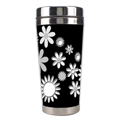 Flower Power Flowers Ornament Stainless Steel Travel Tumblers