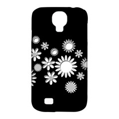 Flower Power Flowers Ornament Samsung Galaxy S4 Classic Hardshell Case (PC+Silicone)