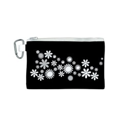 Flower Power Flowers Ornament Canvas Cosmetic Bag (s)