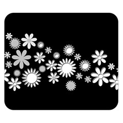 Flower Power Flowers Ornament Double Sided Flano Blanket (Small)