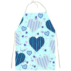 Hearts Pattern Paper Wallpaper Full Print Aprons