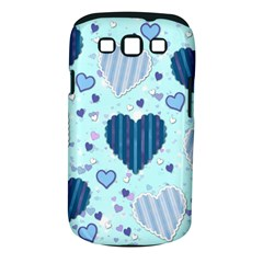Hearts Pattern Paper Wallpaper Samsung Galaxy S Iii Classic Hardshell Case (pc+silicone)