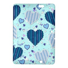 Hearts Pattern Paper Wallpaper Kindle Fire Hdx 8 9  Hardshell Case