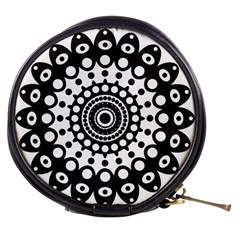 Mandala Geometric Symbol Pattern Mini Makeup Bags