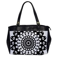 Mandala Geometric Symbol Pattern Office Handbags