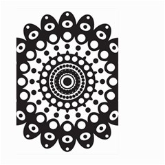 Mandala Geometric Symbol Pattern Large Garden Flag (two Sides)