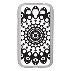 Mandala Geometric Symbol Pattern Samsung Galaxy Grand Duos I9082 Case (white)