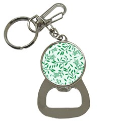 Leaves Foliage Green Wallpaper Button Necklaces
