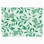Leaves Foliage Green Wallpaper Large Glasses Cloth Front