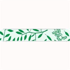 Leaves Foliage Green Wallpaper Small Bar Mats
