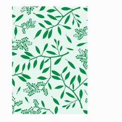 Leaves Foliage Green Wallpaper Large Garden Flag (two Sides)