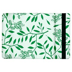 Leaves Foliage Green Wallpaper iPad Air Flip
