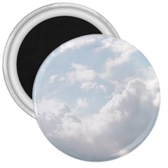 Light Nature Sky Sunny Clouds 3  Magnets