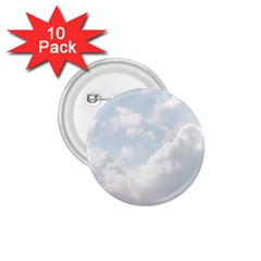 Light Nature Sky Sunny Clouds 1.75  Buttons (10 pack)