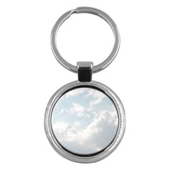 Light Nature Sky Sunny Clouds Key Chains (round)