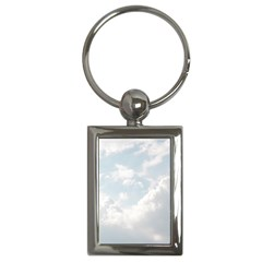 Light Nature Sky Sunny Clouds Key Chains (Rectangle)