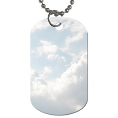 Light Nature Sky Sunny Clouds Dog Tag (One Side)