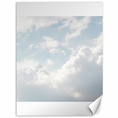 Light Nature Sky Sunny Clouds Canvas 36  x 48