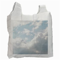 Light Nature Sky Sunny Clouds Recycle Bag (One Side)
