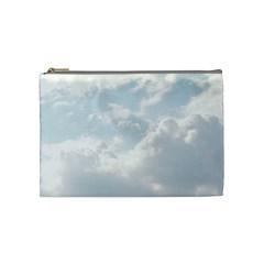 Light Nature Sky Sunny Clouds Cosmetic Bag (medium)