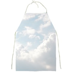 Light Nature Sky Sunny Clouds Full Print Aprons