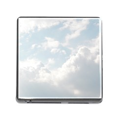 Light Nature Sky Sunny Clouds Memory Card Reader (square)