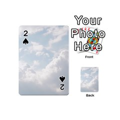 Light Nature Sky Sunny Clouds Playing Cards 54 (Mini)