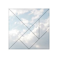 Light Nature Sky Sunny Clouds Acrylic Tangram Puzzle (4  x 4 )