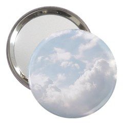 Light Nature Sky Sunny Clouds 3  Handbag Mirrors