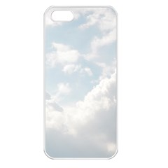 Light Nature Sky Sunny Clouds Apple iPhone 5 Seamless Case (White)