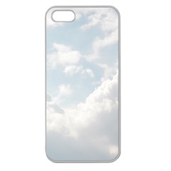 Light Nature Sky Sunny Clouds Apple Seamless iPhone 5 Case (Clear)