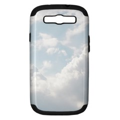Light Nature Sky Sunny Clouds Samsung Galaxy S III Hardshell Case (PC+Silicone)