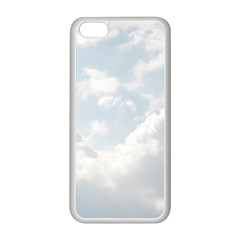Light Nature Sky Sunny Clouds Apple iPhone 5C Seamless Case (White)