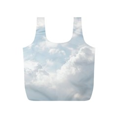 Light Nature Sky Sunny Clouds Full Print Recycle Bags (s)