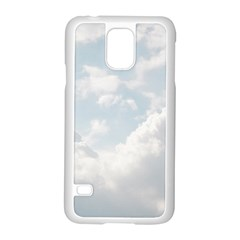 Light Nature Sky Sunny Clouds Samsung Galaxy S5 Case (White)