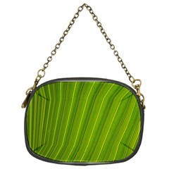 Green Leaf Pattern Plant Chain Purses (one Side)