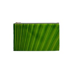 Green Leaf Pattern Plant Cosmetic Bag (Small)