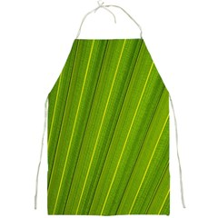 Green Leaf Pattern Plant Full Print Aprons