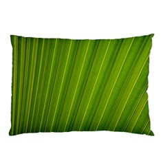 Green Leaf Pattern Plant Pillow Case (two Sides)