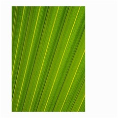 Green Leaf Pattern Plant Small Garden Flag (two Sides)