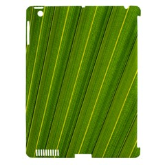 Green Leaf Pattern Plant Apple Ipad 3/4 Hardshell Case (compatible With Smart Cover)