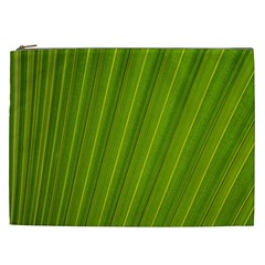 Green Leaf Pattern Plant Cosmetic Bag (xxl)