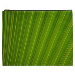 Green Leaf Pattern Plant Cosmetic Bag (XXXL)
