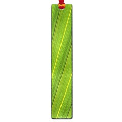 Green Leaf Pattern Plant Large Book Marks