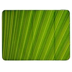 Green Leaf Pattern Plant Samsung Galaxy Tab 7  P1000 Flip Case