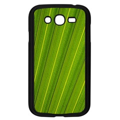 Green Leaf Pattern Plant Samsung Galaxy Grand Duos I9082 Case (black)