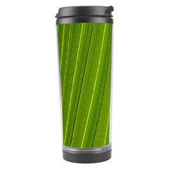 Green Leaf Pattern Plant Travel Tumbler