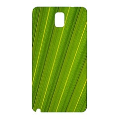 Green Leaf Pattern Plant Samsung Galaxy Note 3 N9005 Hardshell Back Case
