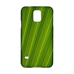Green Leaf Pattern Plant Samsung Galaxy S5 Hardshell Case